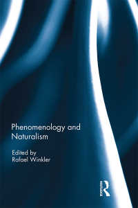 現象学と自然主義<br>Phenomenology and Naturalism