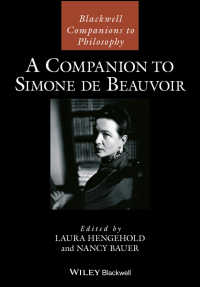ボーヴォワール必携<br>A Companion to Simone de Beauvoir