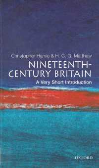 一冊でわかる19世紀英国<br>Nineteenth-Century Britain: A Very Short Introduction