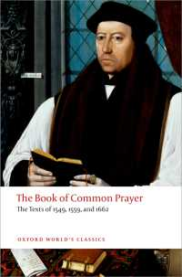一般祈祷書:1549・1559・1662年版<br>The Book of Common Prayer : The Texts of 1549, 1559, and 1662