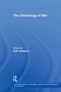 戦争の犯罪学<br>The Criminology of War