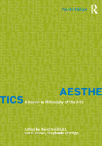 美学読本(第4版)<br>Aesthetics : A Reader in Philosophy of the Arts(4)