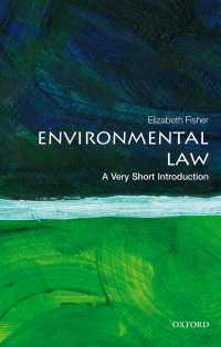 一冊でわかる環境法<br>Environmental Law: A Very Short Introduction