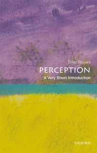 一冊でわかる知覚<br>Perception: A Very Short Introduction