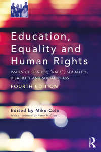 教育、平等と人権(第4版)<br>Education, Equality and Human Rights : Issues of Gender, 'Race', Sexuality, Disability and Social Class(4)