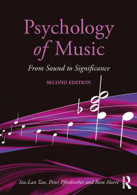 音楽心理学(第2版)<br>Psychology of Music : From Sound to Significance(2)