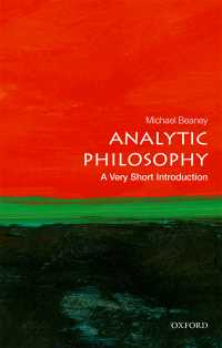 一冊でわかる分析哲学<br>Analytic Philosophy: A Very Short Introduction