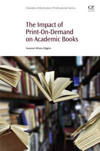 PODの学術書出版への影響<br>The Impact of Print-On-Demand on Academic Books