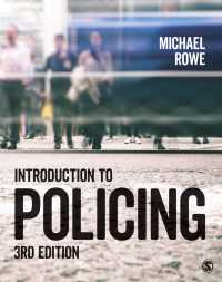 警察活動入門(第3版)<br>Introduction to Policing(Third Edition)