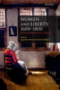 Women and Liberty, 1600-1800 : Philosophical Essays