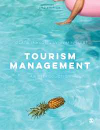 ツーリズムの管理(第2版)<br>Tourism Management : An Introduction(Second Edition)