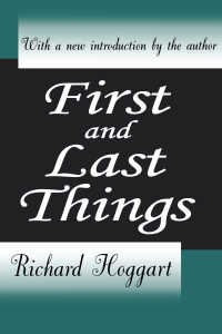 R.ホガート評論集<br>First and Last Things