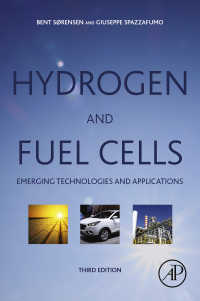 水素・燃料電池(第3版)<br>Hydrogen and Fuel Cells : Emerging Technologies and Applications(3)