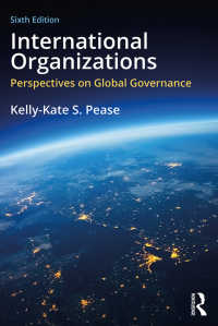 国際組織論(第6版)<br>International Organizations : Perspectives on Global Governance(6)