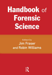 法科学ハンドブック<br>Handbook of Forensic Science