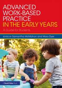 Advanced Work-based Practice in the Early Years : A Guide for Students