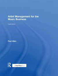 artist management for the music business allen paul 電子版