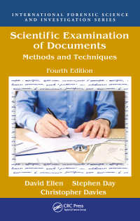 科学的文書鑑定(第4版)<br>Scientific Examination of Documents : Methods and Techniques, Fourth Edition(4)