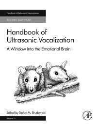 超音波発声ハンドブック<br>Handbook of Ultrasonic Vocalization : A Window into the Emotional Brain