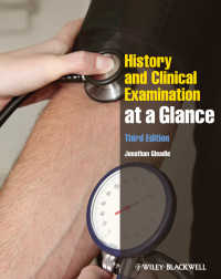 一目でわかる病歴と診断(第3版)<br>History and Clinical Examination at a Glance(3)