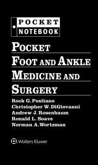 足・足首外科ポケットブック<br>Pocket Foot and Ankle Medicine and Surgery