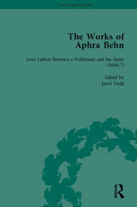 The Works of Aphra Behn: v. 2: Love Letters
