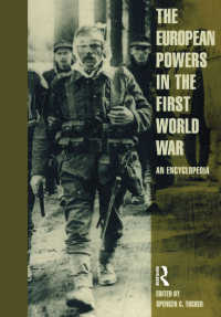 European Powers in the First World War : An Encyclopedia