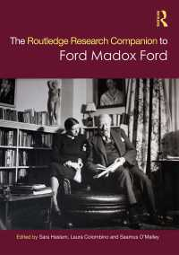 フォード・マドックス・フォード研究必携<br>The Routledge Research Companion to Ford Madox Ford