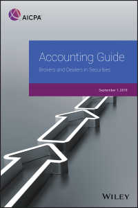 Accounting Guide : Brokers and Dealers in Securities 2018