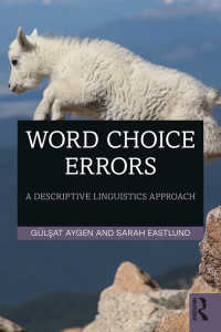 Word Choice Errors : A Descriptive Linguistics Approach