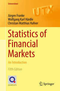 金融市場の統計学:入門(第5版)<br>Statistics of Financial Markets〈5th ed. 2019〉 : An Introduction(5)