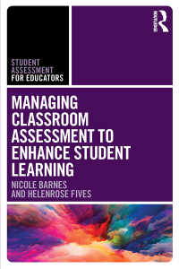 生徒の学びを促す教室評価管理<br>Managing Classroom Assessment to Enhance Student Learning
