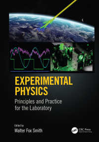 実験物理学(テキスト)<br>Experimental Physics : Principles and Practice for the Laboratory