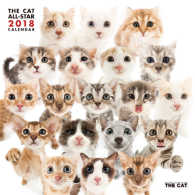 THE CAT ALL-STAR 2018カレンダー CL1102
