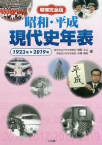 昭和・平成現代史年表 1923年-2019年