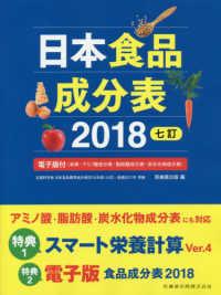 日本食品成分表 2018七訂  電子版付