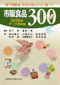 嚥下調整食学会分類2013に基づく市販食品300