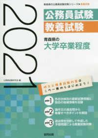 青森県の大学卒業程度 : 教養試験