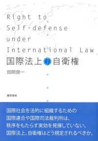 国際法上の自衛権