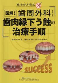 図解!歯周外科を用いた歯肉縁下う蝕の治療手順 ; 成功の方程式