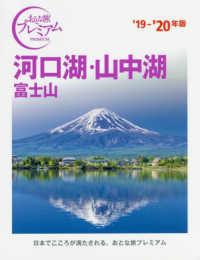 河口湖・山中湖 '19-'20年版 富士山