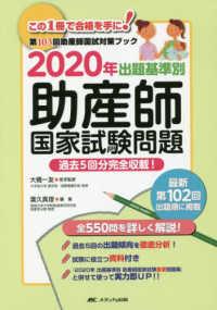 出題基準別助産師国家試験問題 2020年