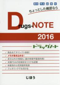 Drugs-NOTE 2016