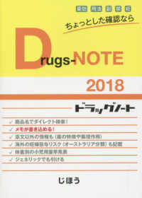 Drugs-NOTE 〈2018〉