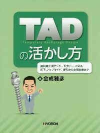 TAD temporary Anchorage Device の活かし方 ; 歯科矯正用アンカースクリューによる圧下、アップライト、牽引から全顎治療まで
