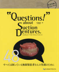 """Questions!"" about Suction Dentures."